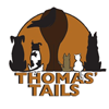 Thomas Tails – Crystal Lake Natural Dog and Cat Food Logo
