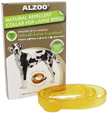 Alzoo Flea and Tick Collar Dog Lg/XL