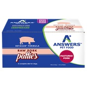 Answers Raw Detailed Pork  4#