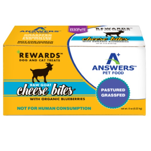 Answers Raw Goat Cheese  Answers Raw Goat Cheese w/Blueberries  Blueberries  8oz