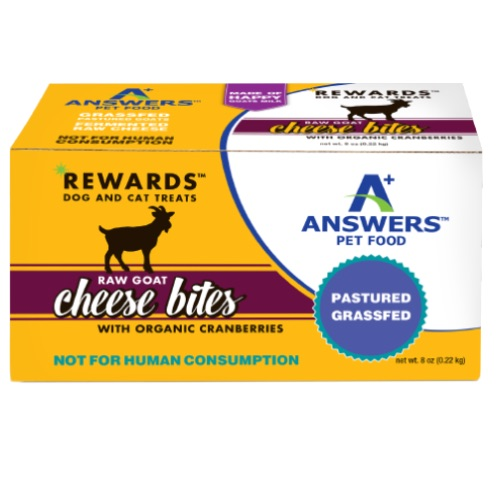 Answers Raw Goat Cheese  Answers Raw Goat Cheese w/Cranberries  Cranberries  8oz