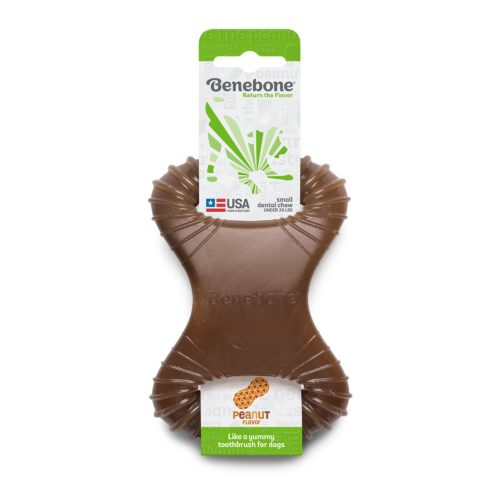 Benebone  Benebone Dental Chew  Peanut Butte  MiniDental