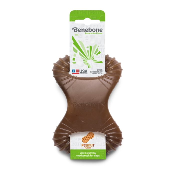 Benebone  Benebone Dental Chew  Peanut Butte  MiniDental