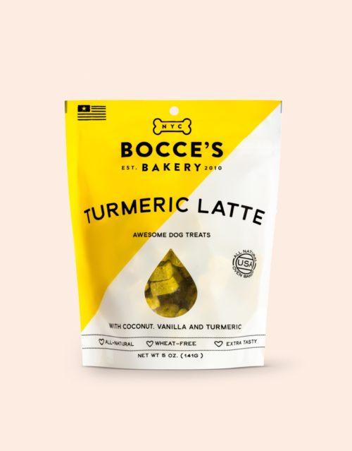 Bocces Biscuit  Bocces Tumeric/Latte  Tumeric/Latt  5 oz