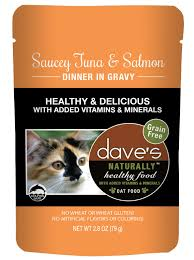 Dave's Naturally Healthy  Dave's Naturally Healthy Pouches Saucey Tuna & Salmon  SauceyTna/Sa  2.8oz