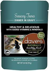 Dave's Naturally Healthy  Dave's Naturally Healthy Pouches Saucey Tuna  SauceyTuna  2.8oz