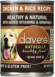 Dave's Pet Food Dog  Dave's Naturally Healthy Chicken & Rice Recipe  ChickenRice  13.2oz