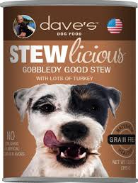 Dave's Pet Food Dog  Dave's Pet Food dog canned  GF Gobbledy  13oz