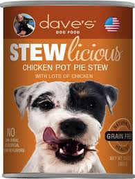 Dave's Pet Food Dog  Dave's Stewlcious  ChickPot  13oz