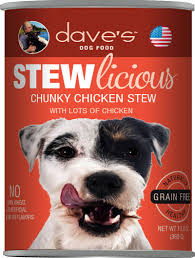 Dave's Pet Food Dog  Dave's Stewlcious  ChunkyChick2  13oz
