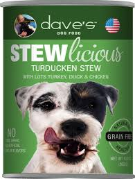 Dave's Pet Food Dog  Dave's Stewlcious  Turducken  13oz
