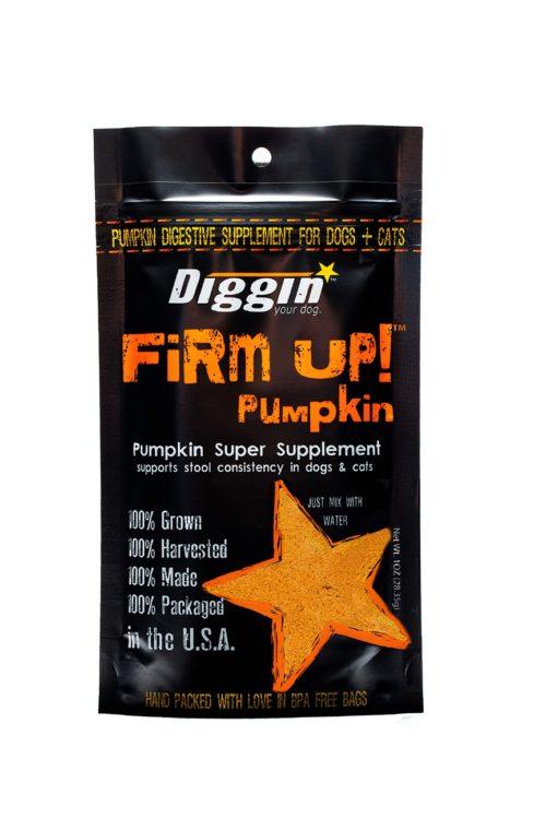 Diggin Your Dog  Diggin Your Dog Firm Up Pumpkin  Pumpkin  4 oz