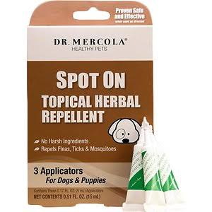Dr Mercola Herbal Repellent Spot On