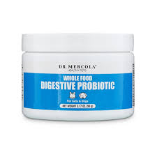 Dr. Mercola  Whole Food Digestive Probiotic For Pets  WholeFoodPro  90g