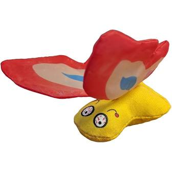 Ducky World Products  Yeowww! Butterfly  BttrflyRed  O/S