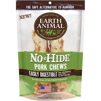 Earth Animal  Earth Animal No Hide  2 PK Pork  7""