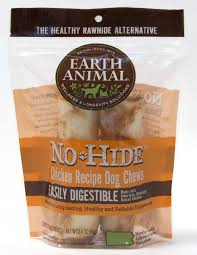 "Earth Animal  Earth Animal No Hide  Chicken  4"" 2 pack"