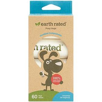 Earth Rated Poop Bags  Earth Rated Compostable Poop Bags  Boxed  4 rolls