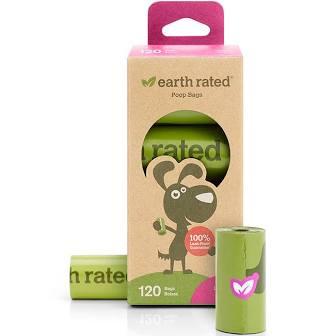 Earth Rated Poop Bags  Earth Rated Poop Bags  Boxed  8 rolls