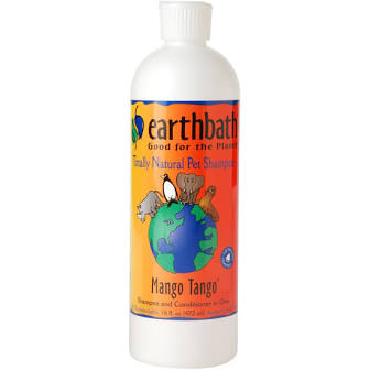 Earthbath Shampoo  Mango Tango  MangoT   16 oz