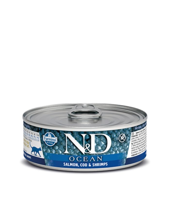 Farmina Cat Canned Food  Farmina Cat Canned Food Ocean Salmon