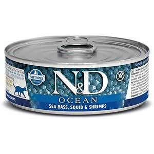 Farmina Cat Canned Food  Farmina Cat Canned Food Ocean Sea Bass