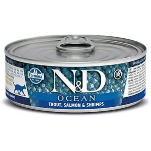 Farmina Cat Canned Food  Farmina Cat Canned Food Ocean Trout