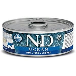 Farmina Cat Canned Food  Farmina Cat Canned Food Ocean Tuna & Shrimp  Tuna/Shrp  2.8oz