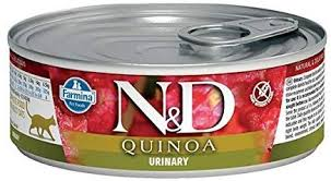 Farmina Cat Canned Food  Farmina Cat Canned Food Urinary Quinoa & Duck  Duck/Quinoa  2.8oz