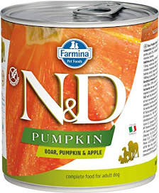 Farmina Dog Canned Food  Farmina Dog Canned Food Pumpkin Boar