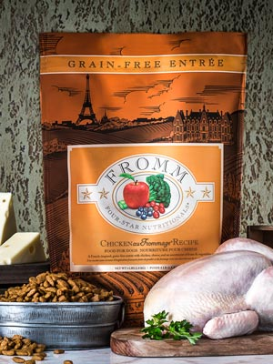 Fromm Family Pet Products  Fromm Chicken Au Frommage  ChickenAu  4#