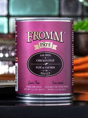 Fromm Family Pet Products  Fromm Dog canned Chicken and Salmon Pate  Chick/SalPat  12oz