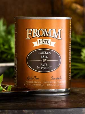 Fromm Family Pet Products  Fromm Dog canned  ChickenPate  12oz