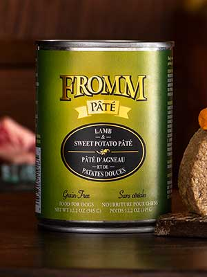 Fromm Family Pet Products  Fromm Dog canned Lamb & Sweet Potato  Lamb & SP  12oz