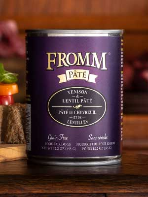Fromm Family Pet Products  Fromm Dog canned Venison & Lentil Pate  Ven/Lentil  12oz