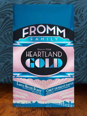 Fromm Family Pet Products  Fromm Large Breed Puppy Heartland Gold  HearPupLgBrd  4#