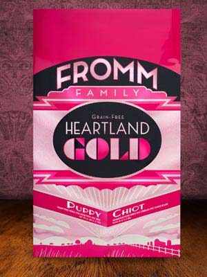 Fromm Family Pet Products  Fromm Puppy Heartland Gold  HeartPuppy  4#