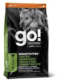 GO!  Go Sensitivity and Shine LID  GF Turkey  22#