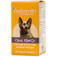 Herbsmith  Herbsmith Clear AllerQi  AllerQiTabs  90tablets