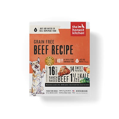 Honest Kitchen GF Beef 10#