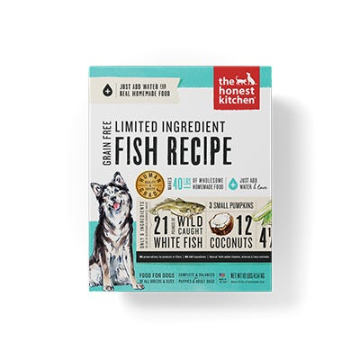 Honest Kitchen LID GF Fish 4#