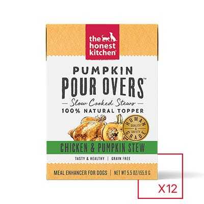 Honest Kitchen Pumpkin Pour Over Chicken & Pumpkin 5.5oz