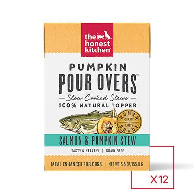Honest Kitchen Pumpkin Pour Over Salmon & Pumpkin 5.5oz