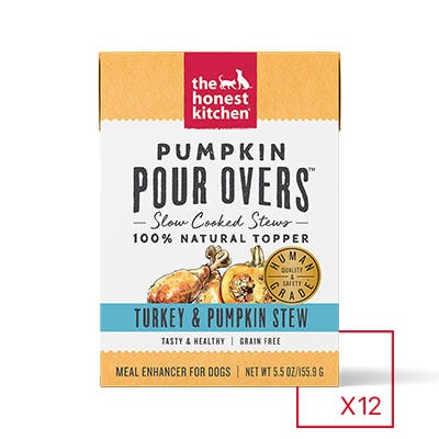 Honest Kitchen Pumpkin Pour Over Turkey & Pumpkin 5.5oz