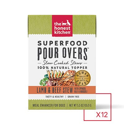 Honest Kitchen Superfood Pour Over Lamb & Beef 5.5oz