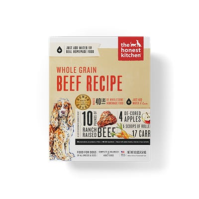 Honest Kitchen Whole Grain Beef  10#