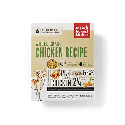 Honest Kitchen Whole Grain Chicken 10#