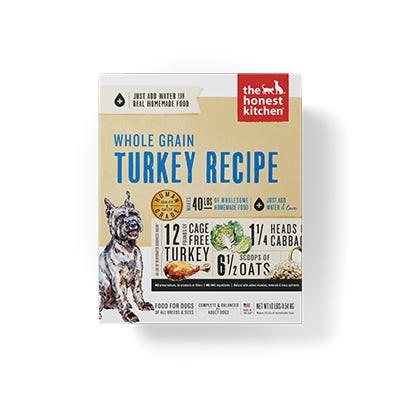 Honest Kitchen Whole Grain Turkey 10#