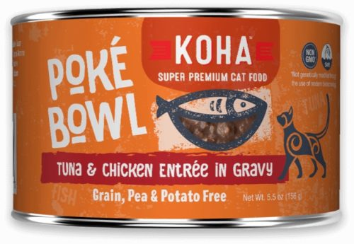 Koha Cat Can Poke Bowl Tuna/Chicken 5.5 oz