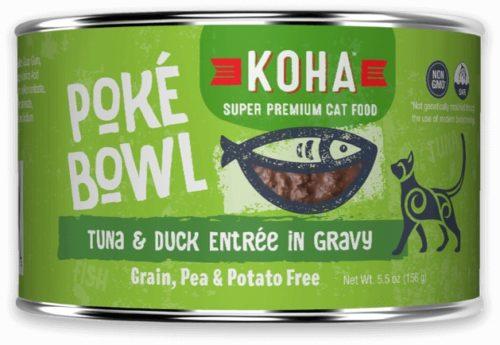 Koha Cat Can Poke Bowl Tuna/Duck 5.5 oz